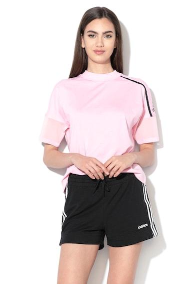 Adidas PERFORMANCE Tricou cu detalii de plasa, pentru antrenament Femei