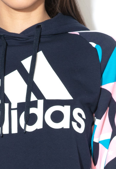 Adidas PERFORMANCE Hanorac crop cu imprimeu logo Femei