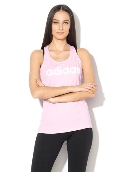 Adidas PERFORMANCE Top cu logo, pentru antrenament Femei