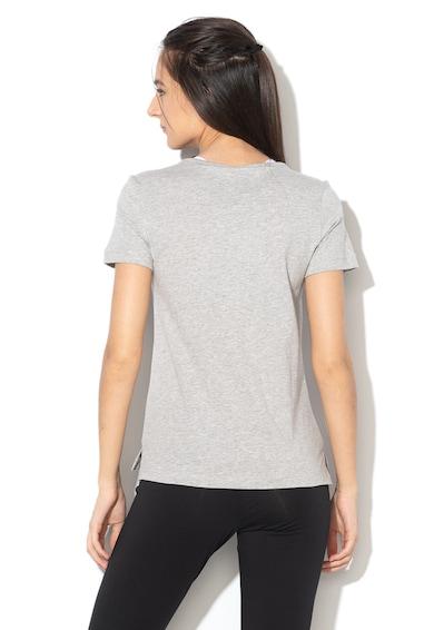 Adidas PERFORMANCE Tricou cu imprimeu floral si logo Femei