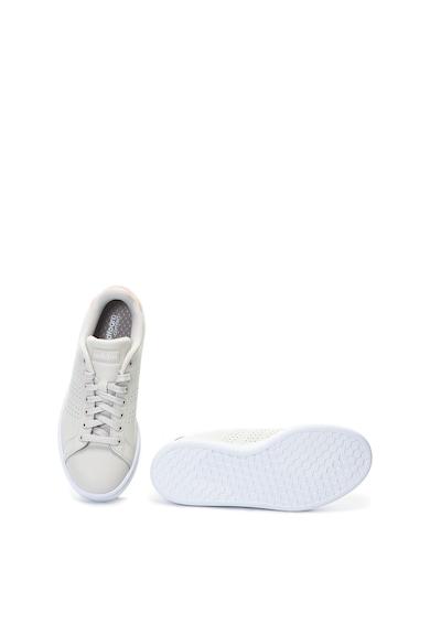 adidas Performance Pantofi sport de piele peliculizati Advantage Femei