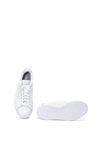 Adidas PERFORMANCE Pantofi sport de piele cu logo Advantage Femei