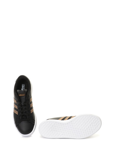 adidas Performance Pantofi sport de piele peliculizata Grand Court Femei