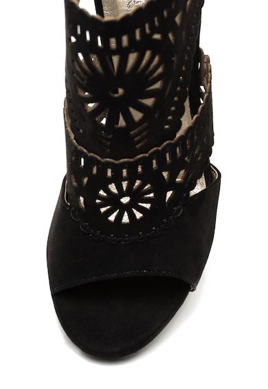 Bullboxer Sandale de piele intoarsa ecologica cu barete multiple si decupaje geometrice Femei