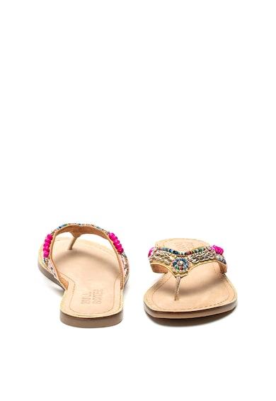 Bullboxer Papuci flip-flop cu decoratiuni 286034I1L Femei
