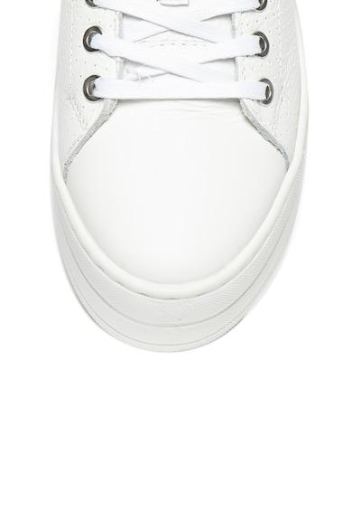 Bullboxer Pantofi sport flatform de piele Femei