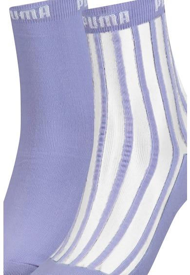 Puma Къси чорапи с разнороден десен - 2 чифта Жени