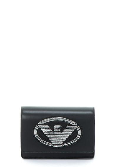 Emporio Armani Geanta mini crossbody de piele ecologica, cu logo Femei