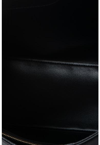 Emporio Armani Geanta shopper de piele saffiano ecologica cu etui interior Femei