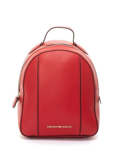 Emporio Armani Műbőr hátizsák logórátéttel női