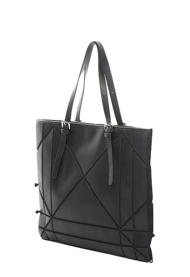 Tosca Blu Geanta shopper de piele ecologica Mondrian Femei