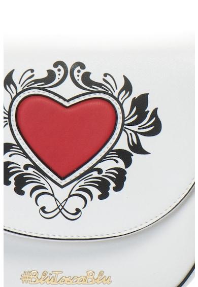 Tosca Blu Geanta de piele ecologica, cu bareta pentru umar Poker Femei