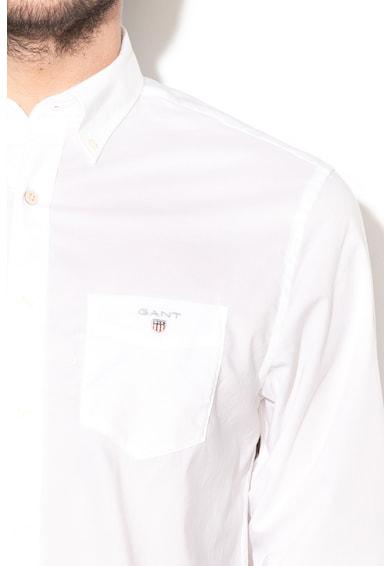 Gant Риза със стандартна кройка и преден джоб Мъже