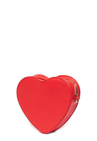Ted Baker Geanta de piele in forma de inima Amellie Femei