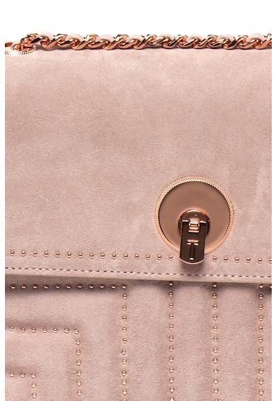 Ted Baker Кожена чанта през рамо Saddiie с капси Жени