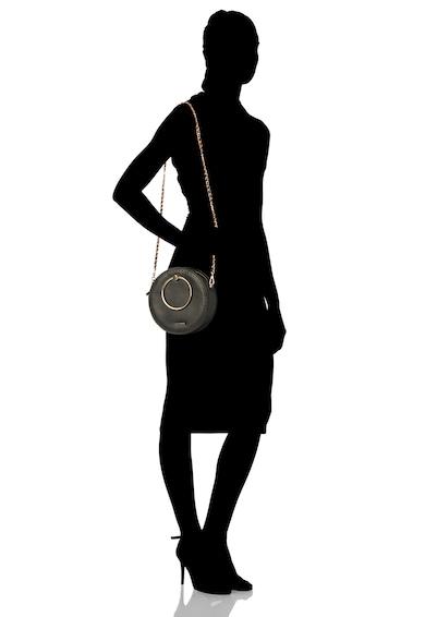 Ted Baker Geanta de piele cu barete circulare metalice Maddie Femei