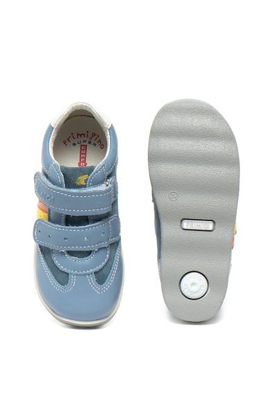 Primigi Pantofi de piele si piele intoarsa cu velcro Baieti