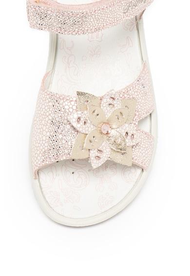 Primigi Велурени сандали с бляскави детайли Момичета