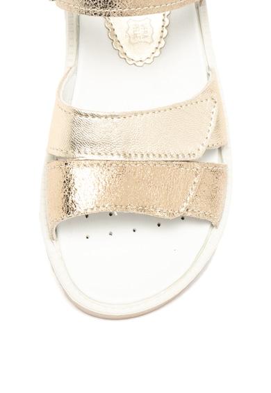 Primigi Sandale de piele si piele intoarsa cu velcro Fete