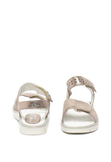 Primigi Sandale de piele cu aspect metalizat Fete
