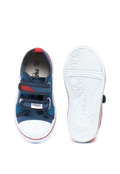 Primigi Pantofi sport cu velcro si garnituri de piele ecologica Baieti