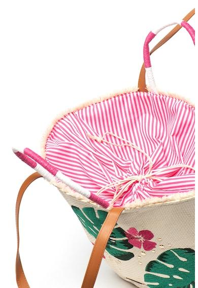 MTNG Geanta shopper cu model floral Manjud Femei