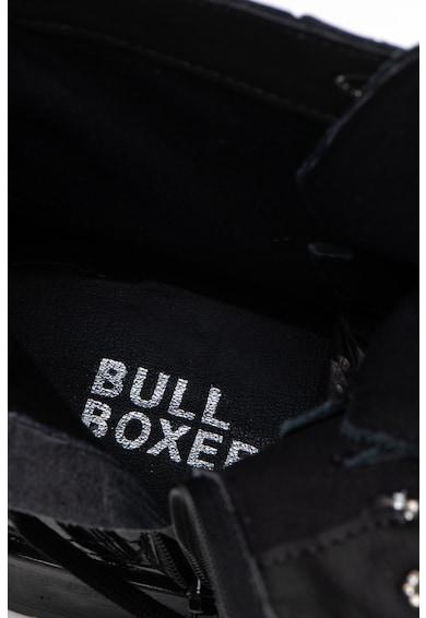 Bullboxer Ghete de piele cu bareta cu catarama Femei