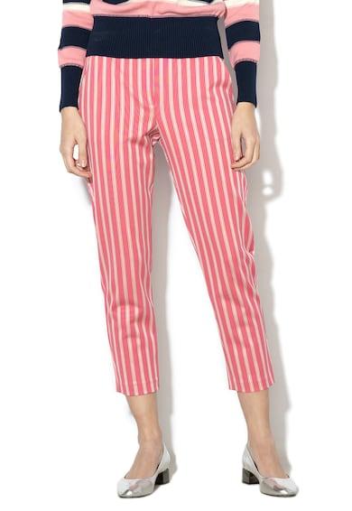 Max&Co Croma csíkos szűkülő fazonú nadrág női