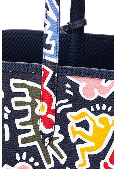 Lacoste Lacoste x Keith Haring kifordítható műbőr shopper táska női