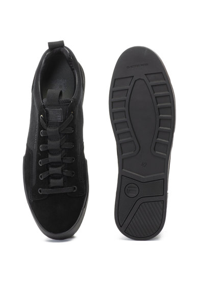 G-Star Raw Pantofi sport de panza si piele intoarsa Rackam Barbati