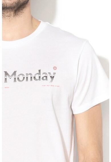 Cheap Monday Tricou din bumbac organic cu imprimeu logo Barbati