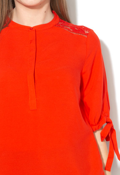 Vero Moda Bluza cu insertii de dantela Cille Femei