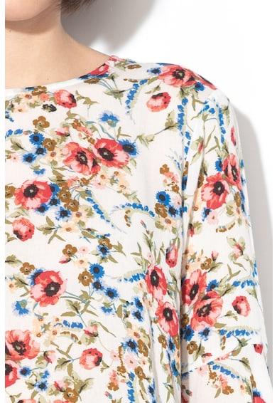 United Colors of Benetton Virágmintás felső harangujjakkal női