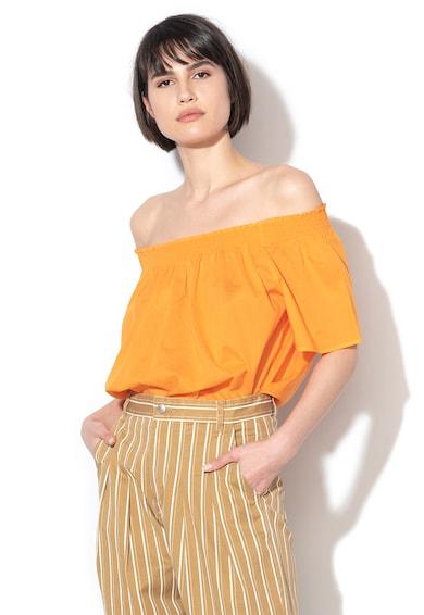 United Colors of Benetton Ejtett vállú, lágy esésű felső női
