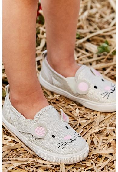 JoJo Maman Bebe Обувки без закопчаване с дизайн на мишле Момичета