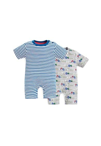 JoJo Maman Bebe Set de salopete scurte - 2 perechi Baieti