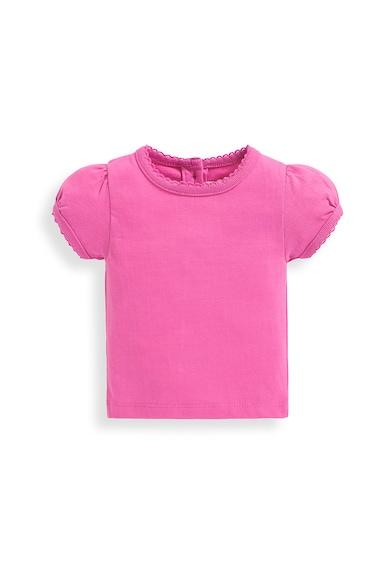 JoJo Maman Bebe Set de salopeta si tricou cu model soarece Fete