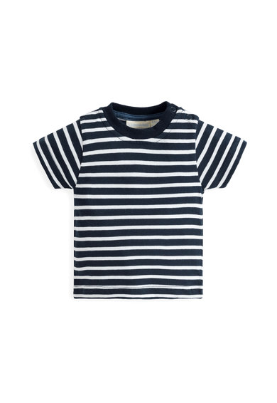 JoJo Maman Bebe Комплект тениска и гащеризон Момчета