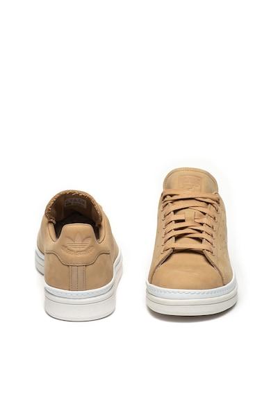 Adidas ORIGINALS Pantofi sport cu garnituri de piele nabuc Stan Smith New Bold Femei