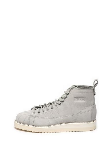 Adidas ORIGINALS Pantofi sport mid-high de piele nabuc Superstar Femei