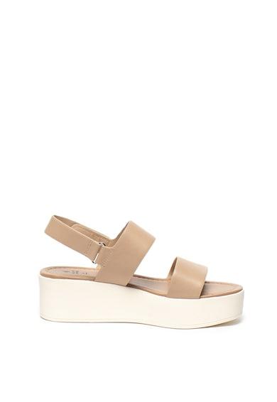 Call It Spring Sandale wedge de piele ecologica Adericia Femei