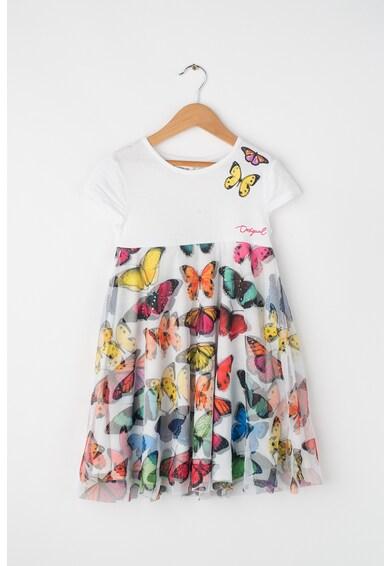 DESIGUAL Yamena bővülő fazonú pillangós ruha Lány