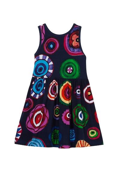 DESIGUAL Bővülő mintás ruha Lány