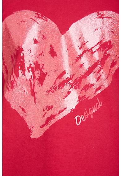 DESIGUAL Set de tricou si colanti cu imprimeu Fete