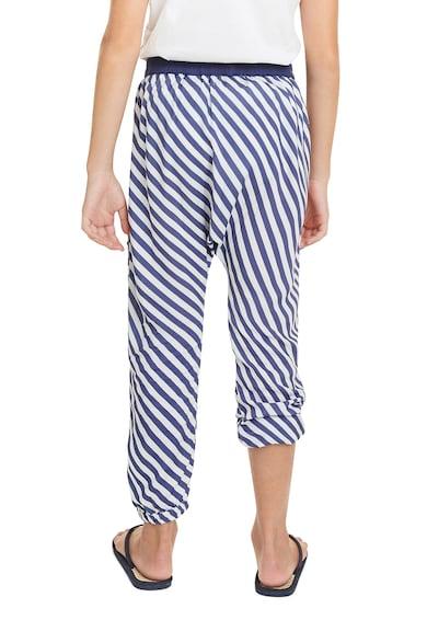 DESIGUAL Pantaloni cu model in dungi si talie elastica Fete