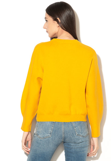GUESS JEANS Laza pulóver domború logóval női