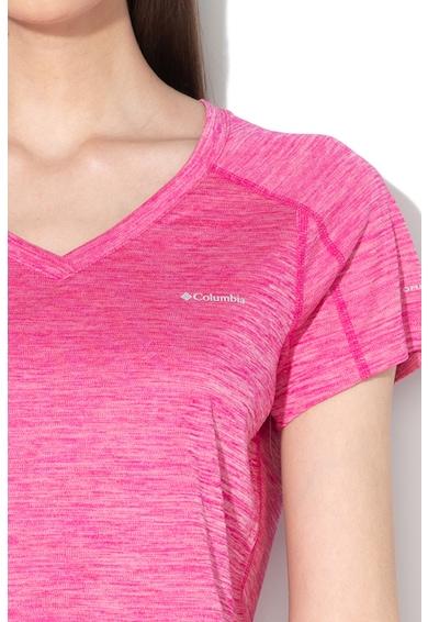 Columbia Tricou cu detaliu logo Zero Rules™ Femei
