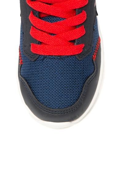Lumberjack Pantofi sport din material textil si piele ecologica Swing Baieti