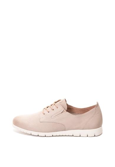 Tamaris Pantofi de piele nabuc cu perforatii Femei