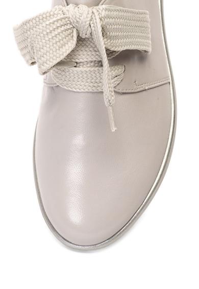 Tamaris Pantofi de piele cu sireturi late Femei